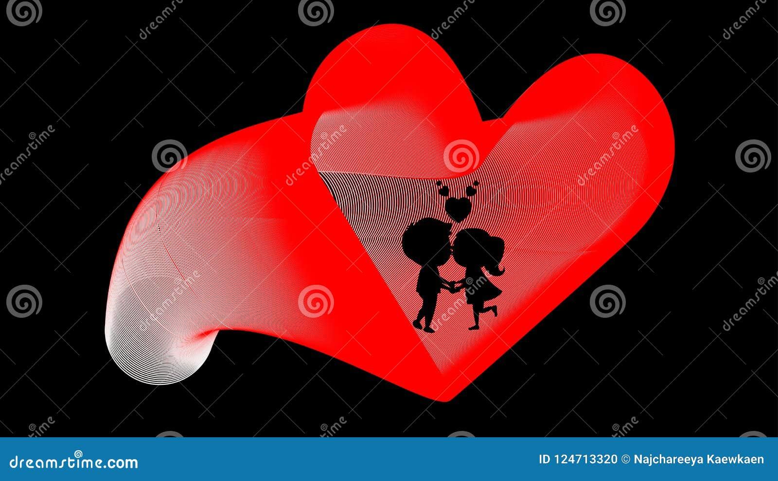 Femme d homme de coeur d affiche de mariage