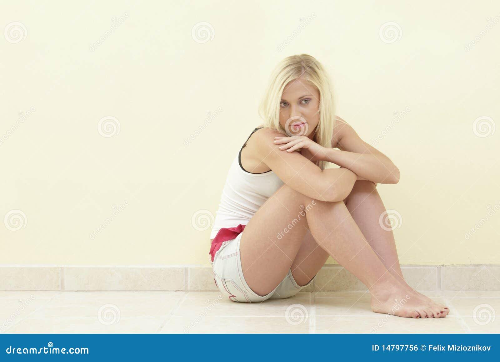 Femme dans une pose de séance