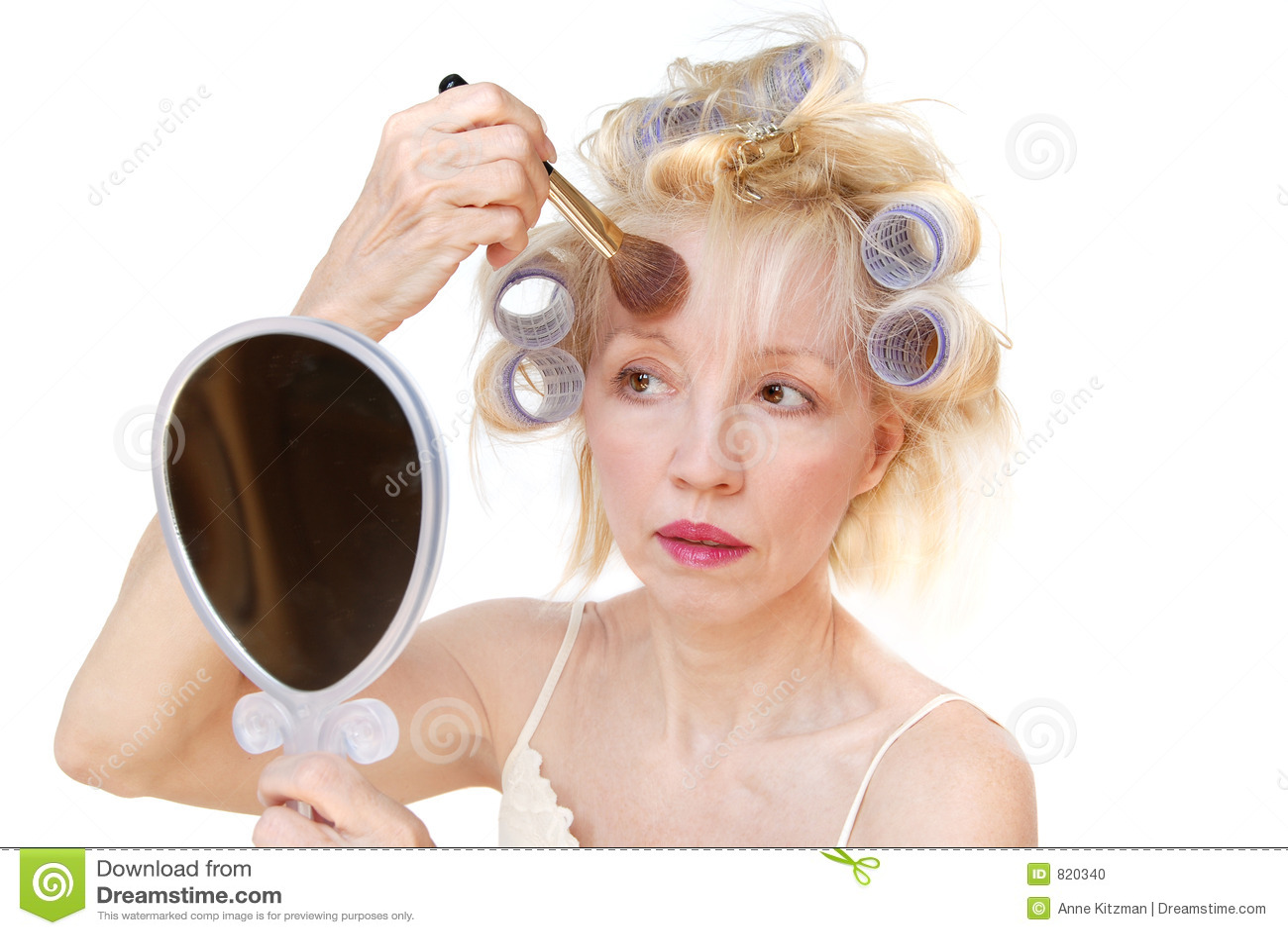 Femme de bigoudi