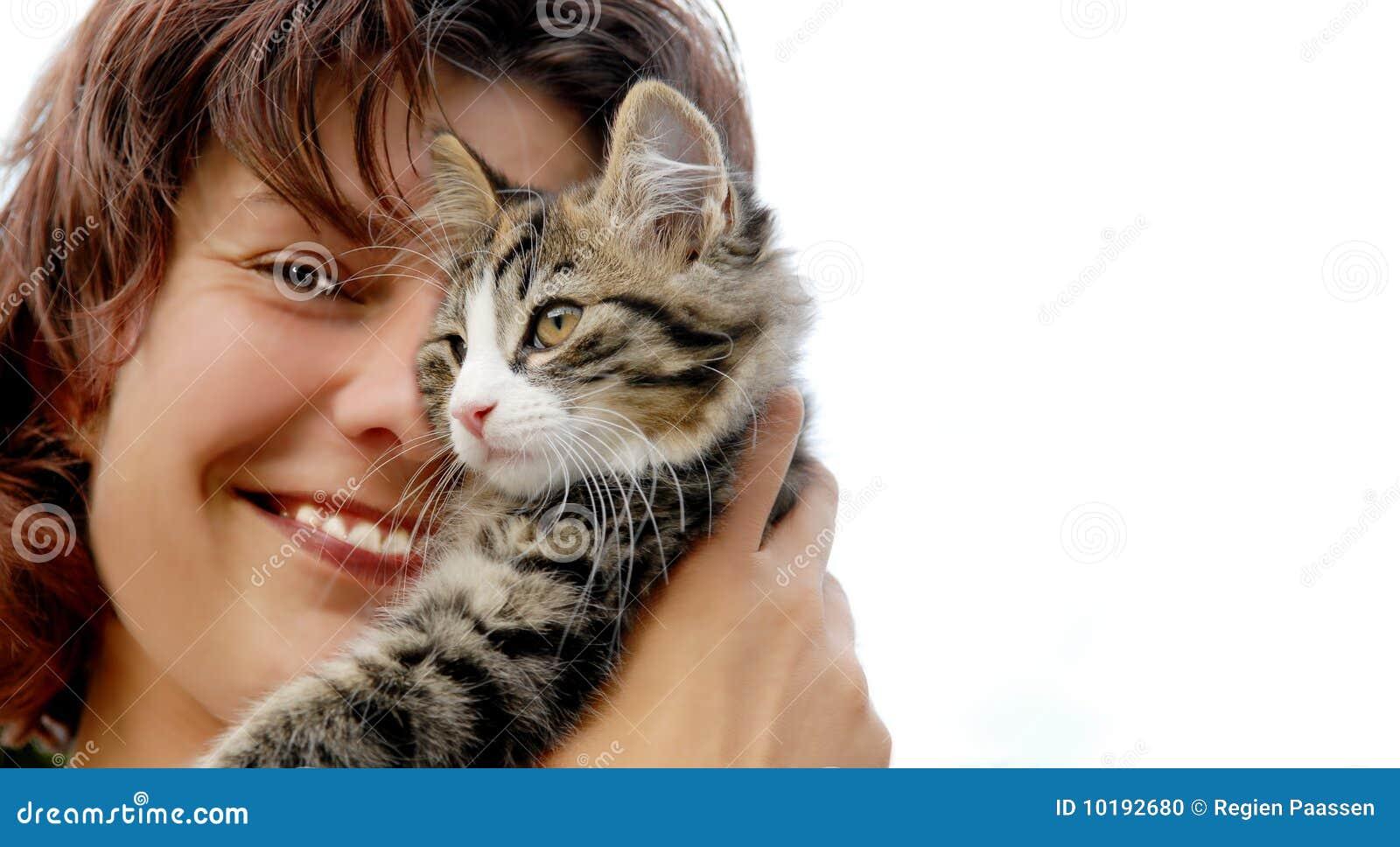Femme de chat