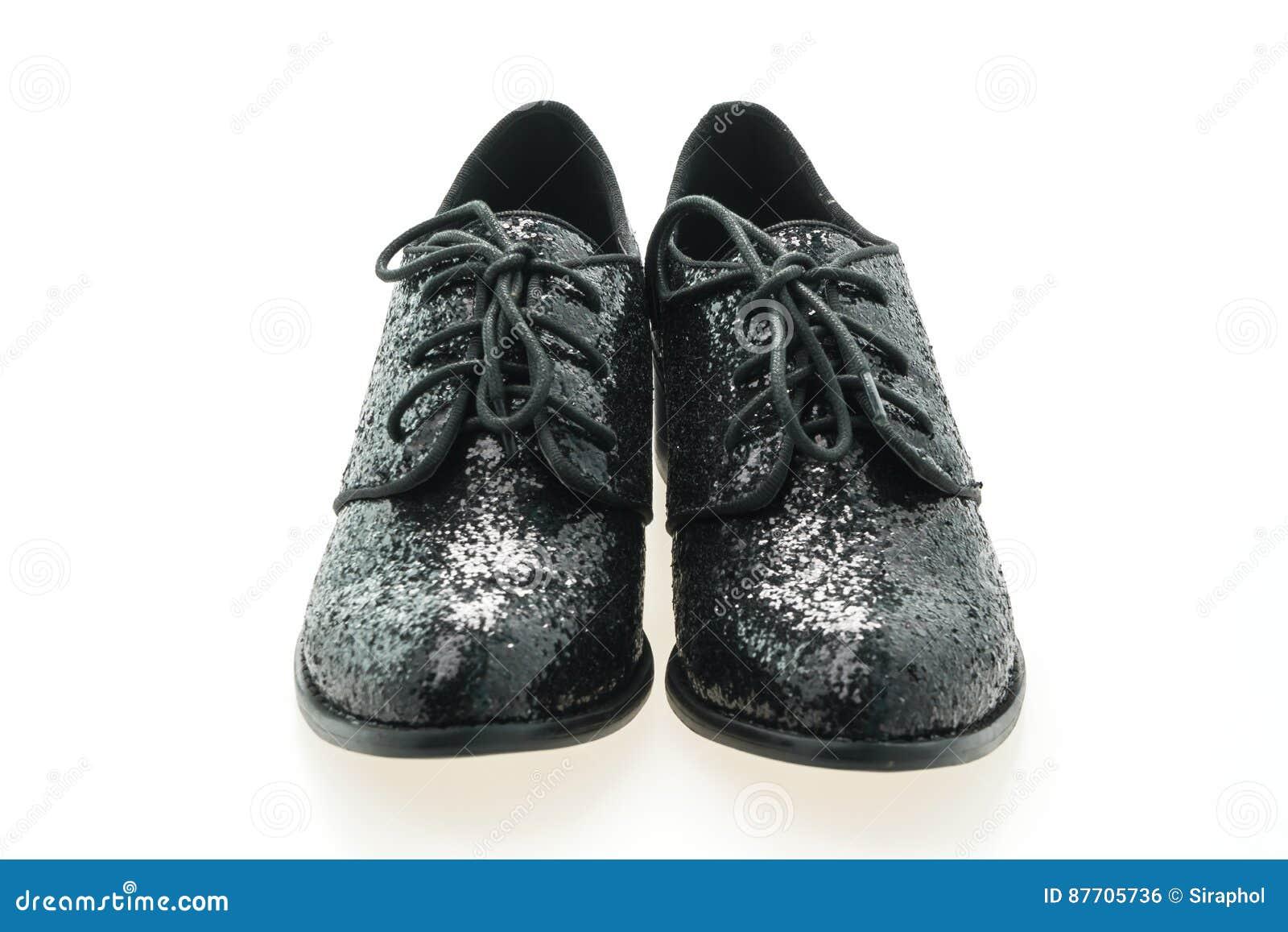 Femme de chaussures en cuir