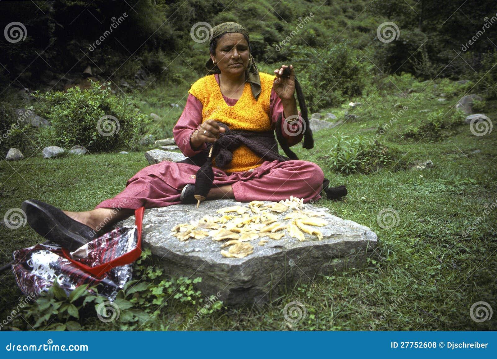 Femme de Ladakhi