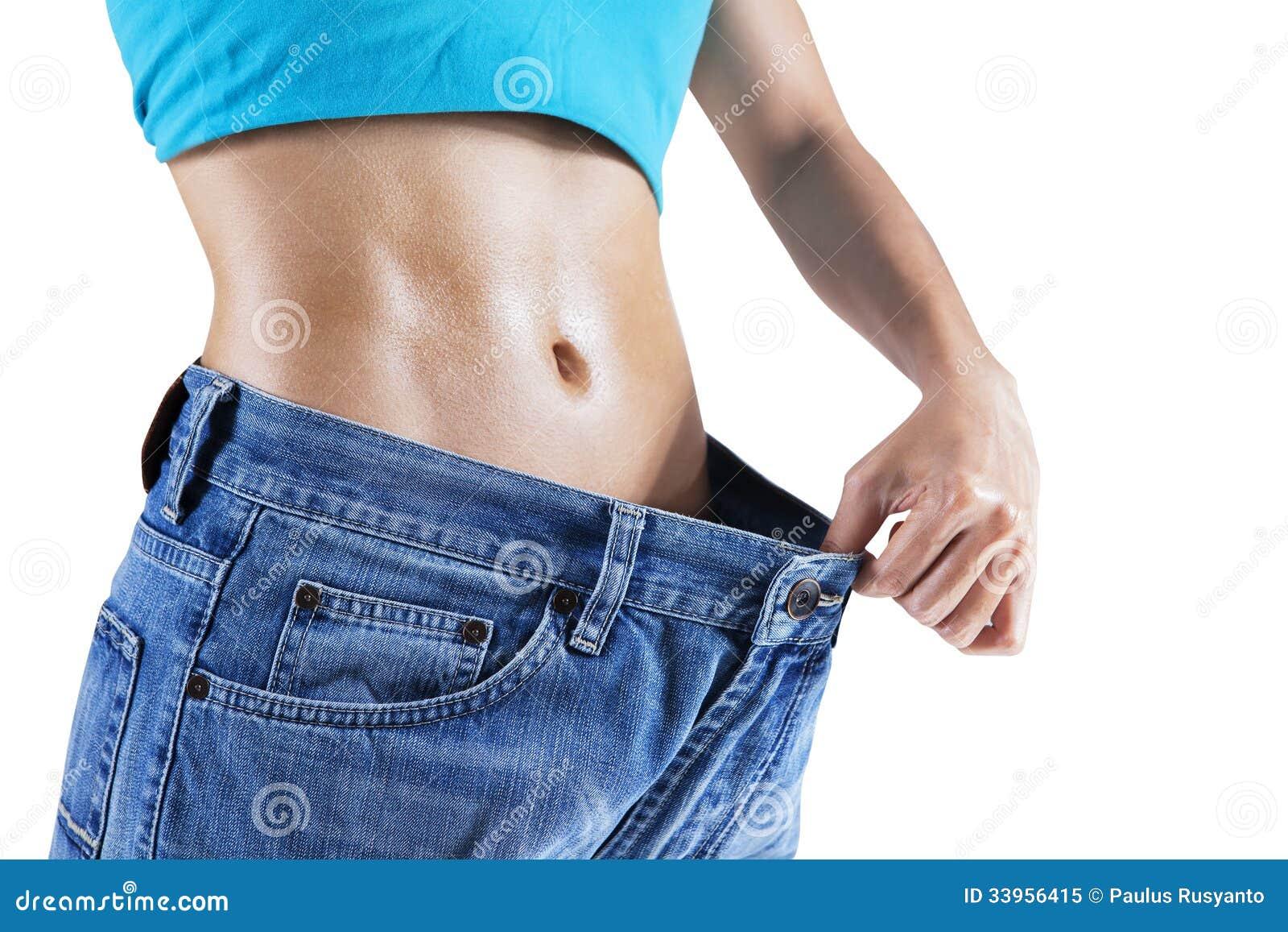 Femme de perte de poids