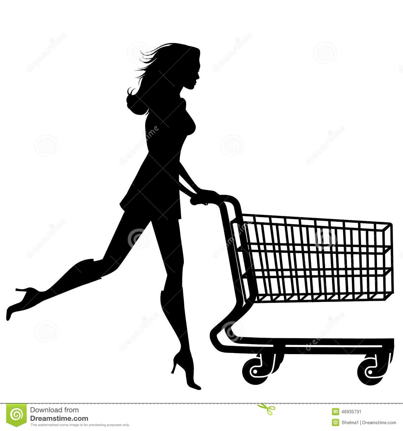 woman running clipart black and white