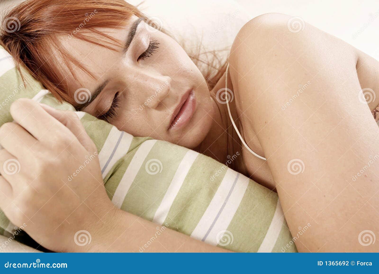 Femme de sommeil