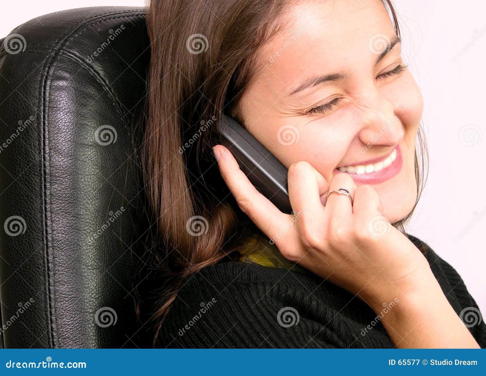 Download Femme de sourire image stock. Image du fermé, sourires, yeux - 65577