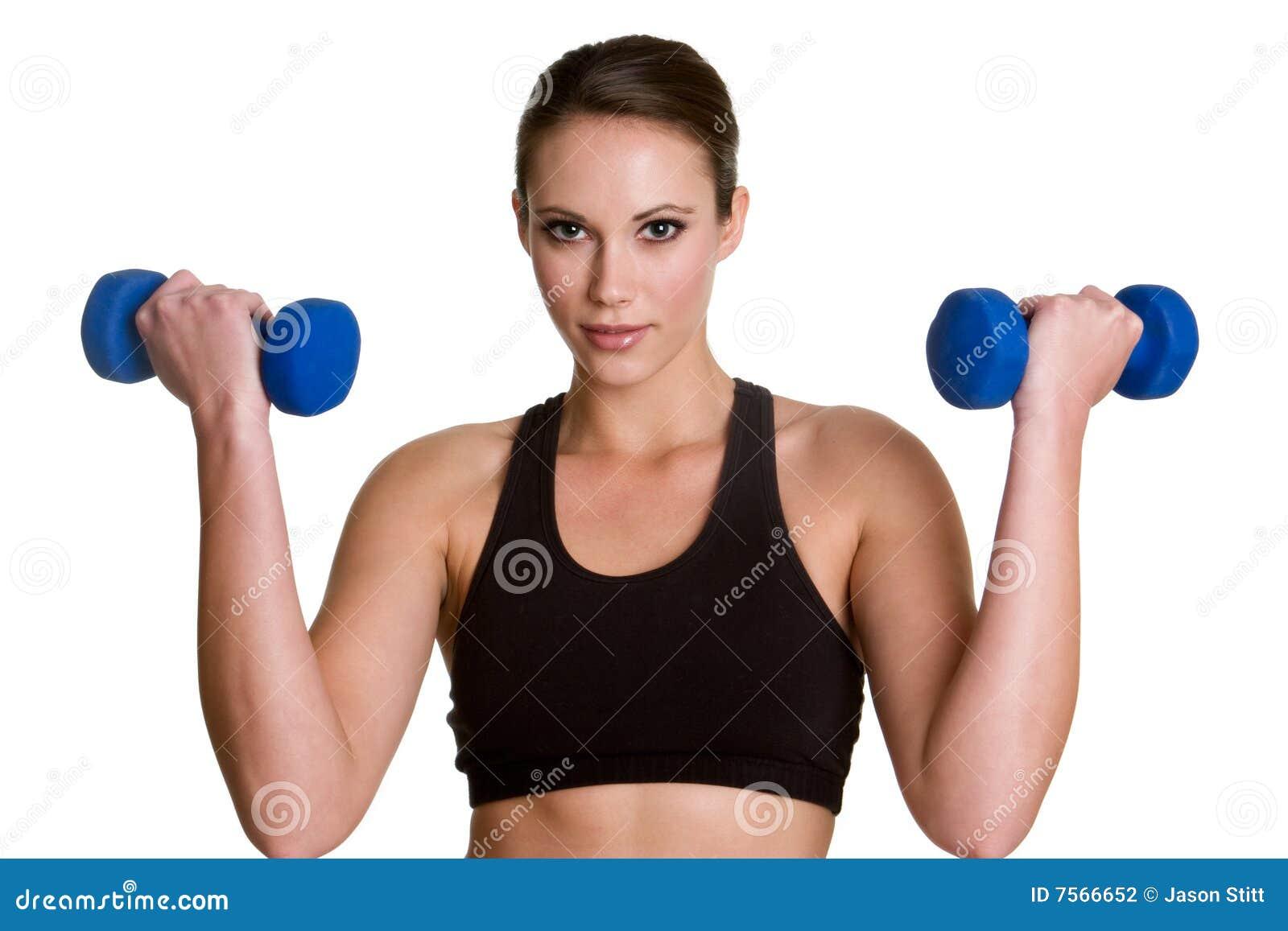 Femme en bonne santé de forme physique