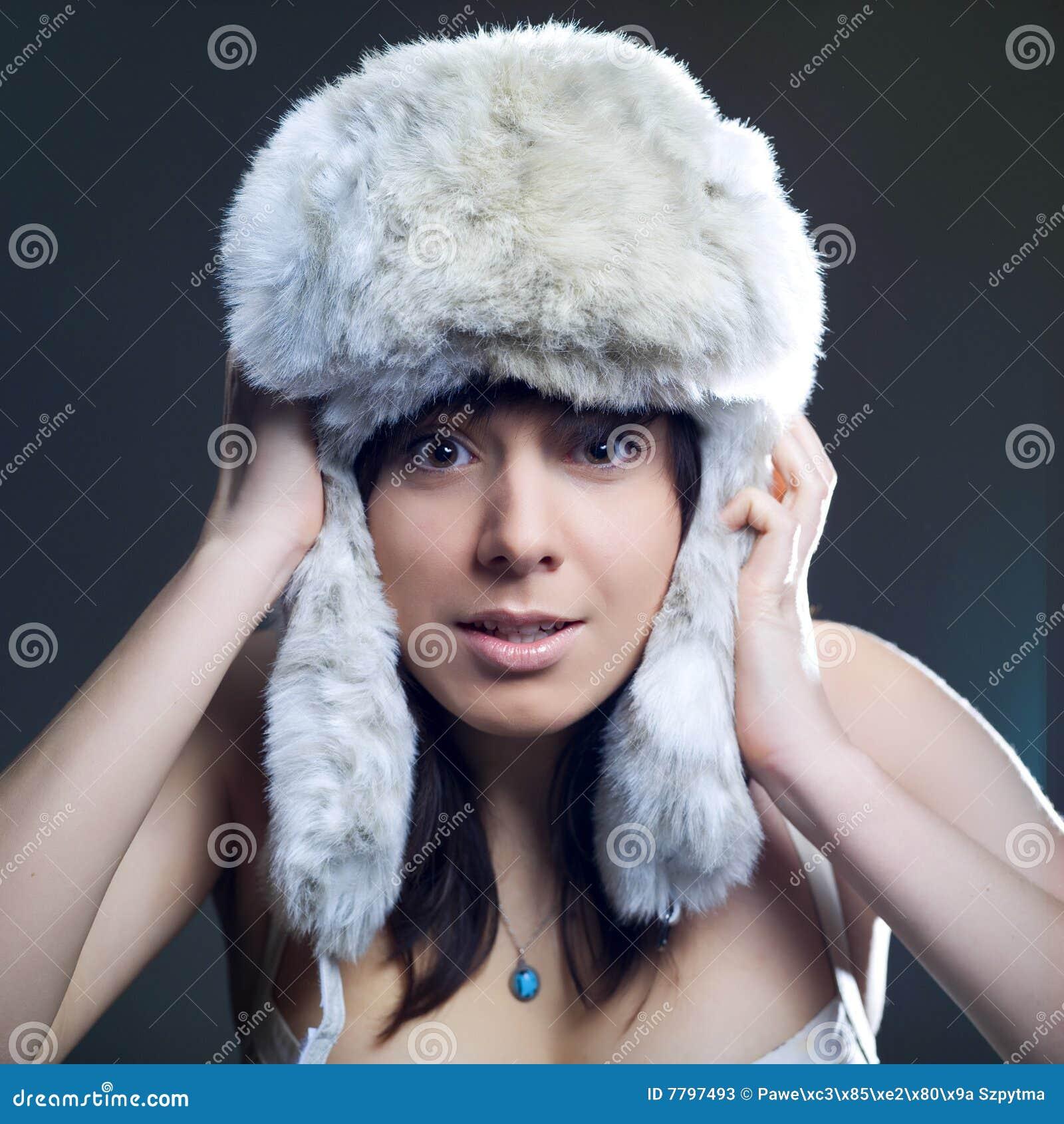 Femme froide de l hiver