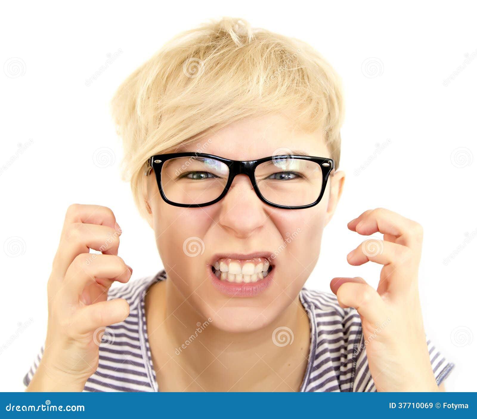 Femme furieuse