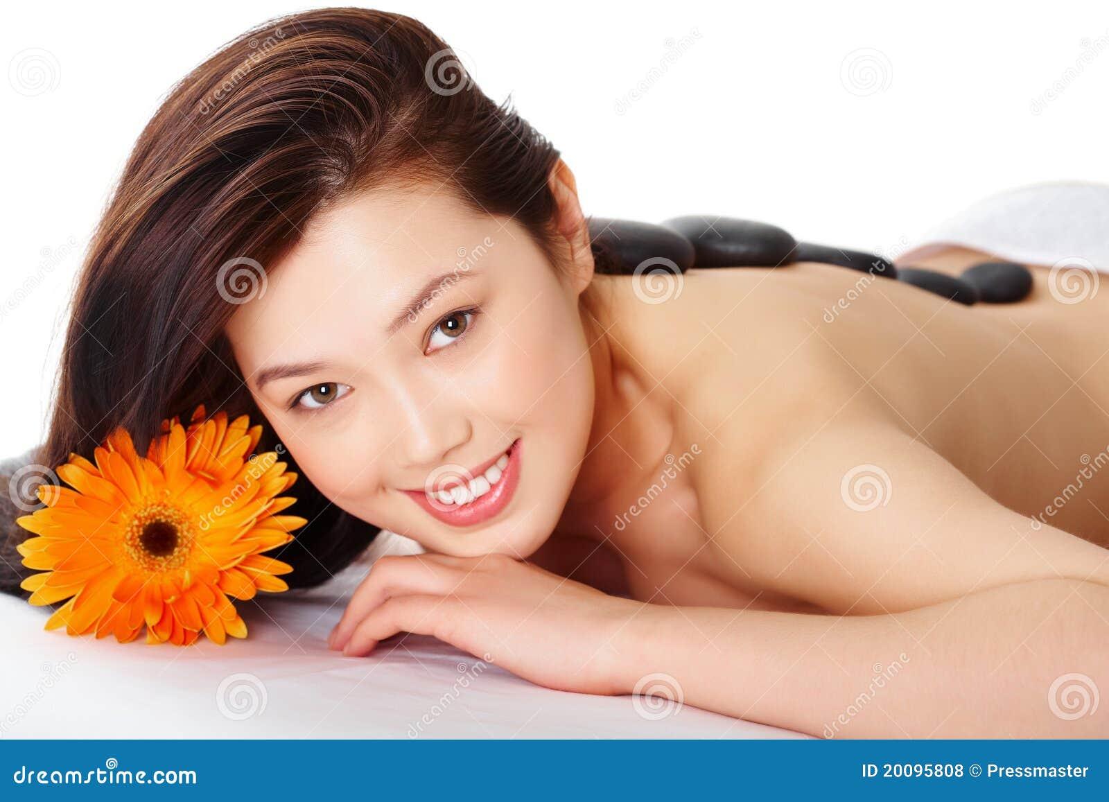 Femme heureux