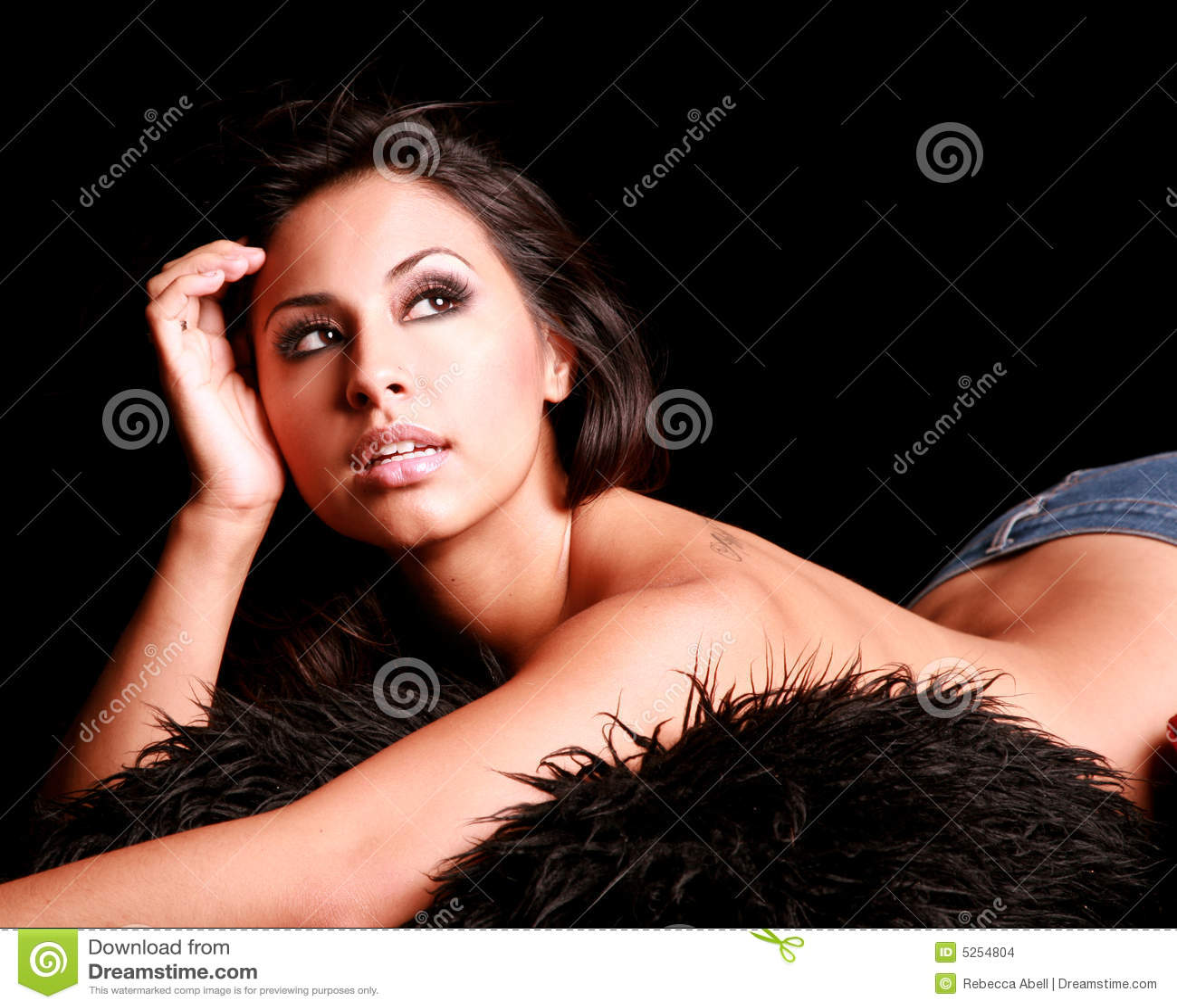 Femme hispanique sexy