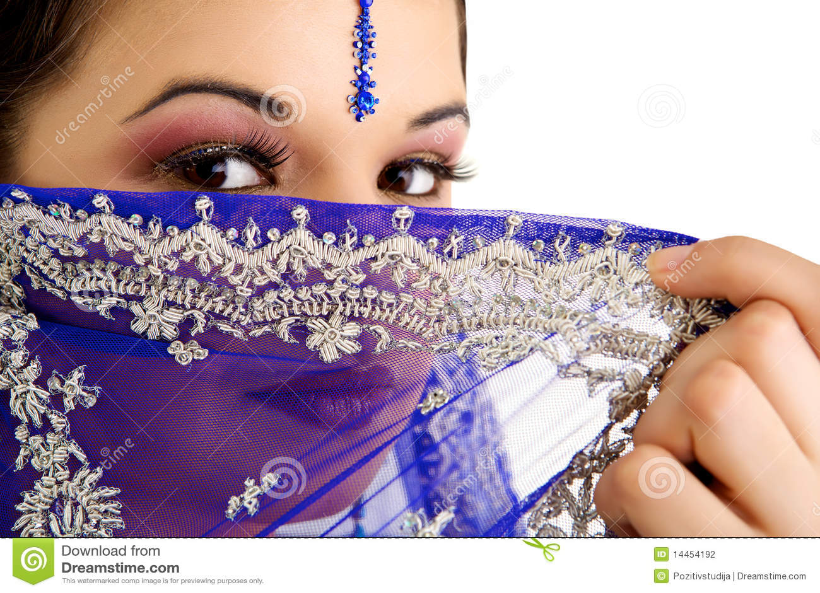 Femme indien