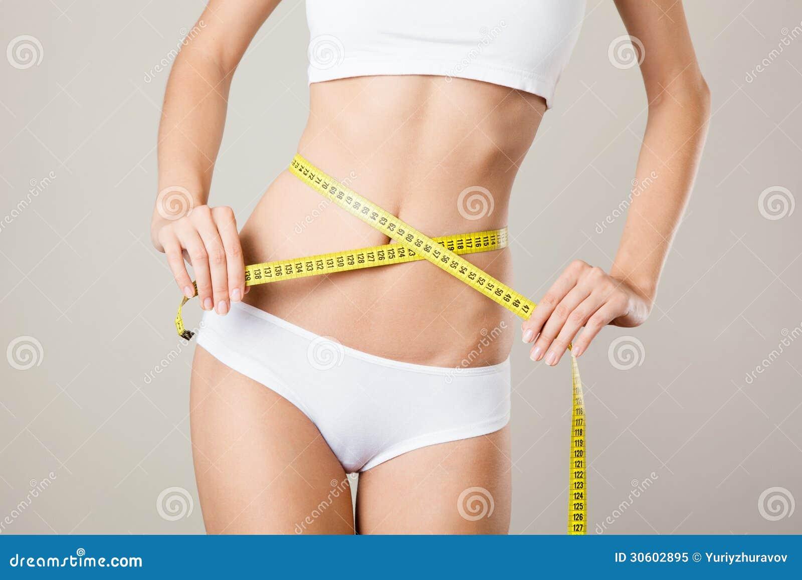 Femme mesurant sa taille corps mince parfait photo libre de droits image 30602895 - Taille des hortensias en mars ...