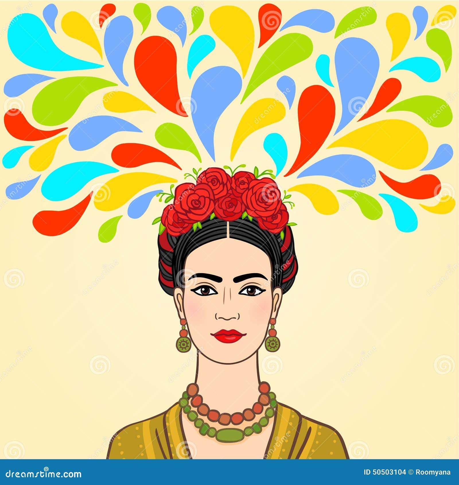 Femme mexicaine : imagination