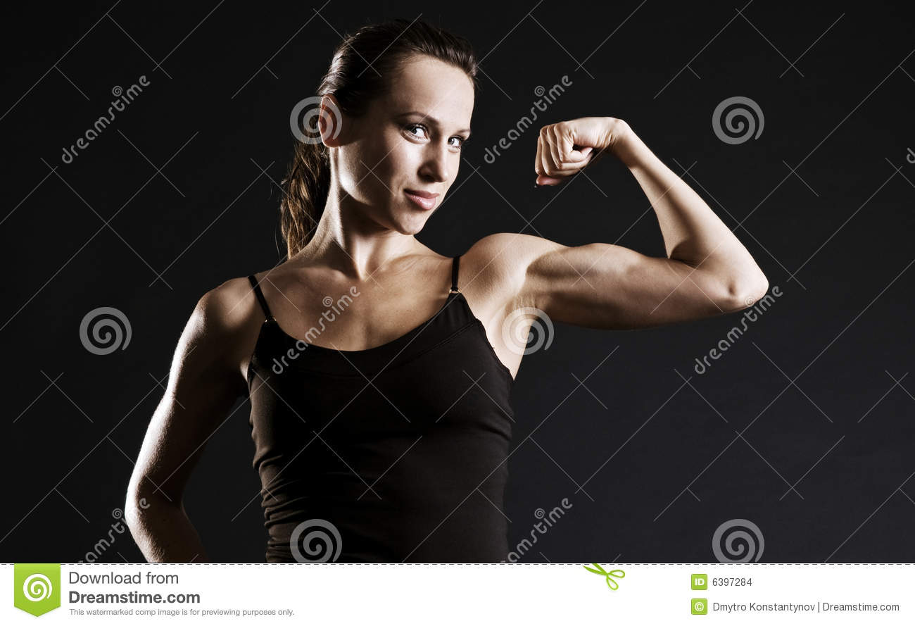 Femme musculaire
