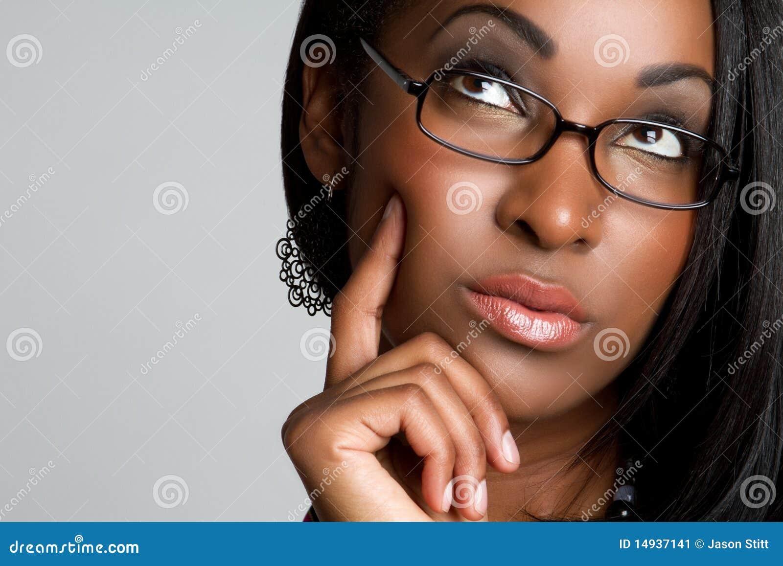 Femme pensant