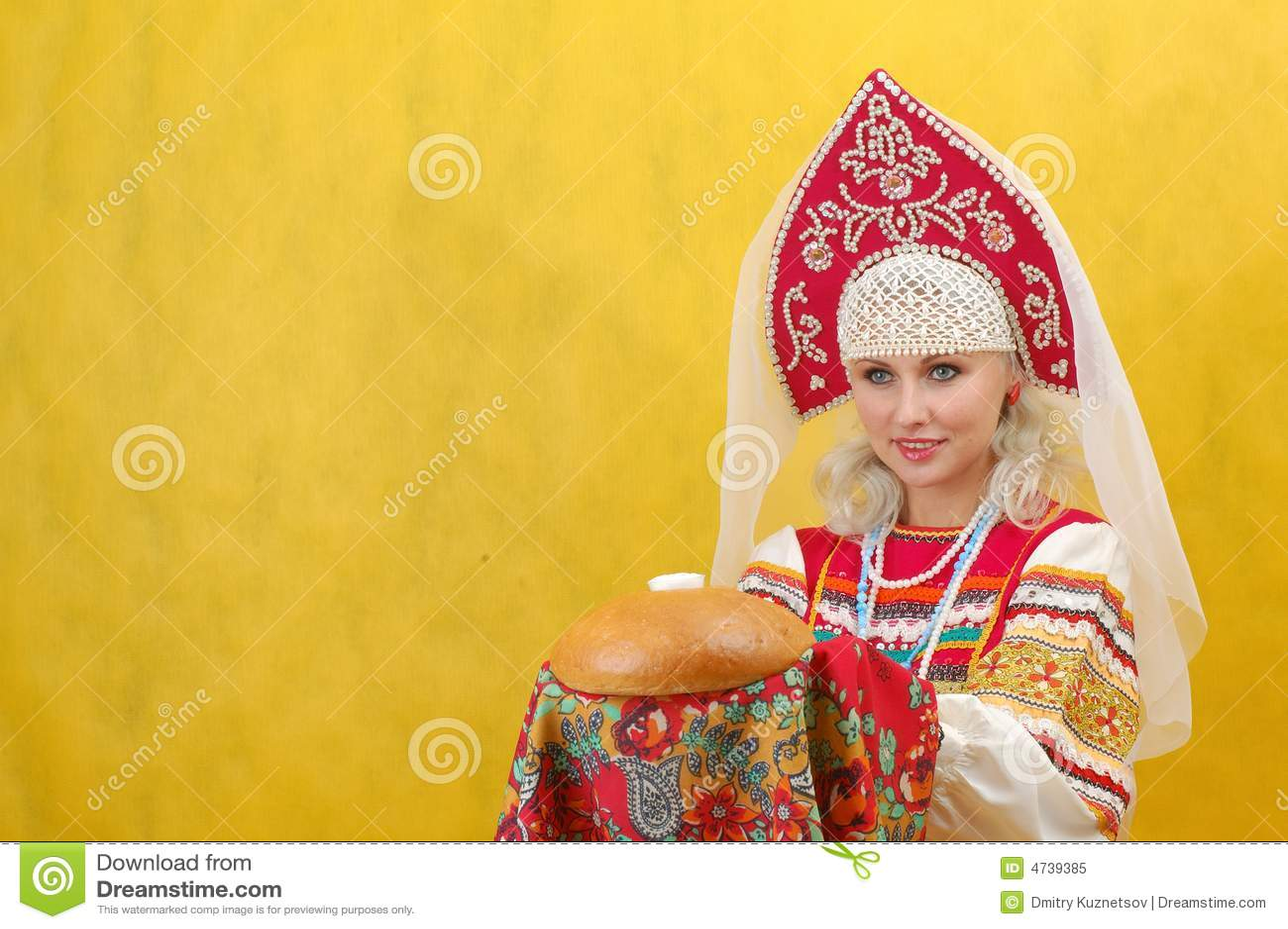 Une femme russe