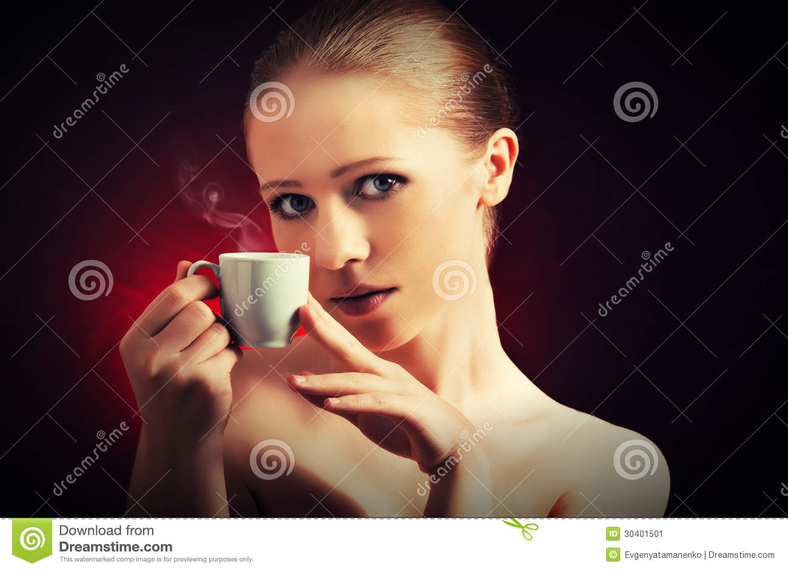 Femme Sexy Tasse De Caf Ef Bf Bd