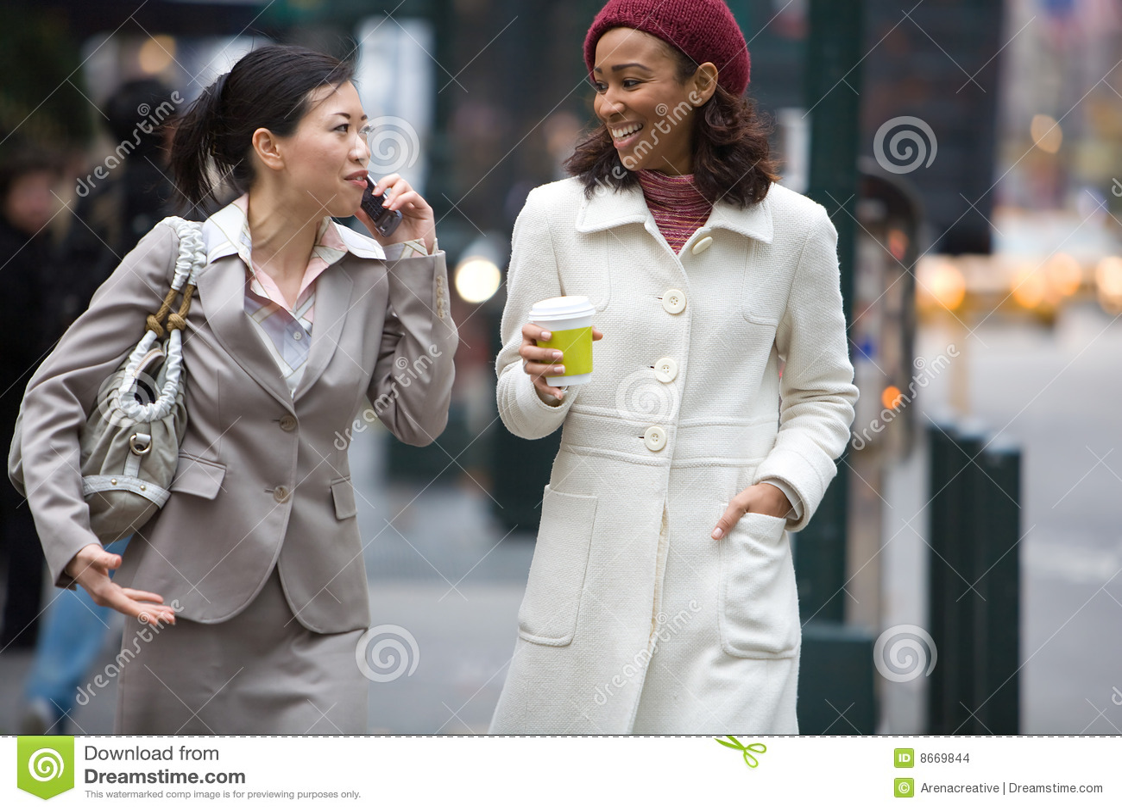 Femmes d affaires de ville