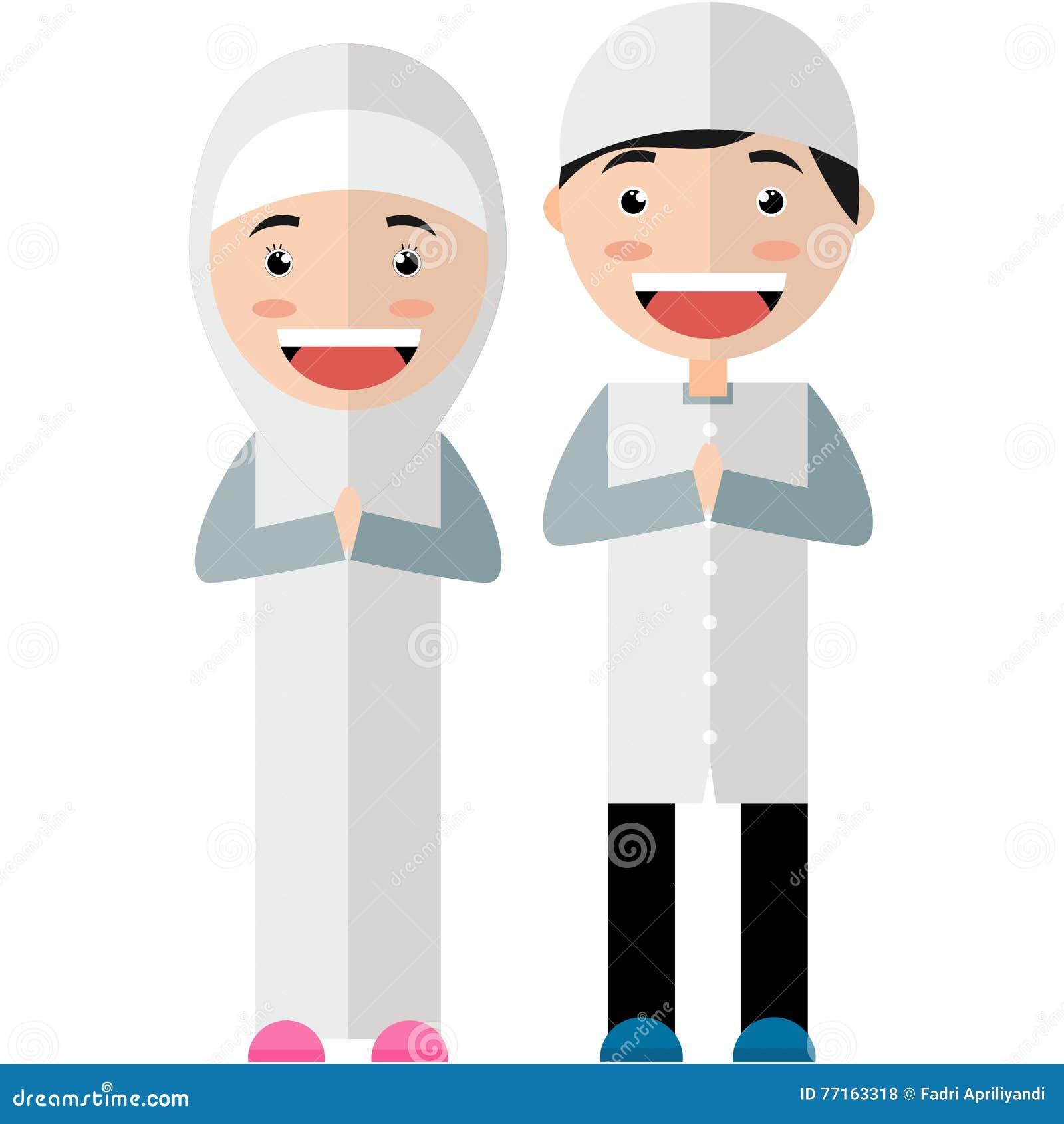 Femmes et hommes musulmans