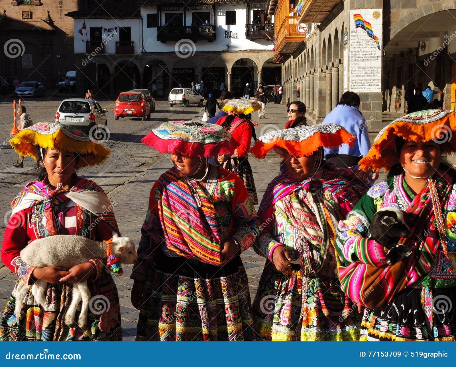 Femmes Quechua dans Cusco, Pérou
