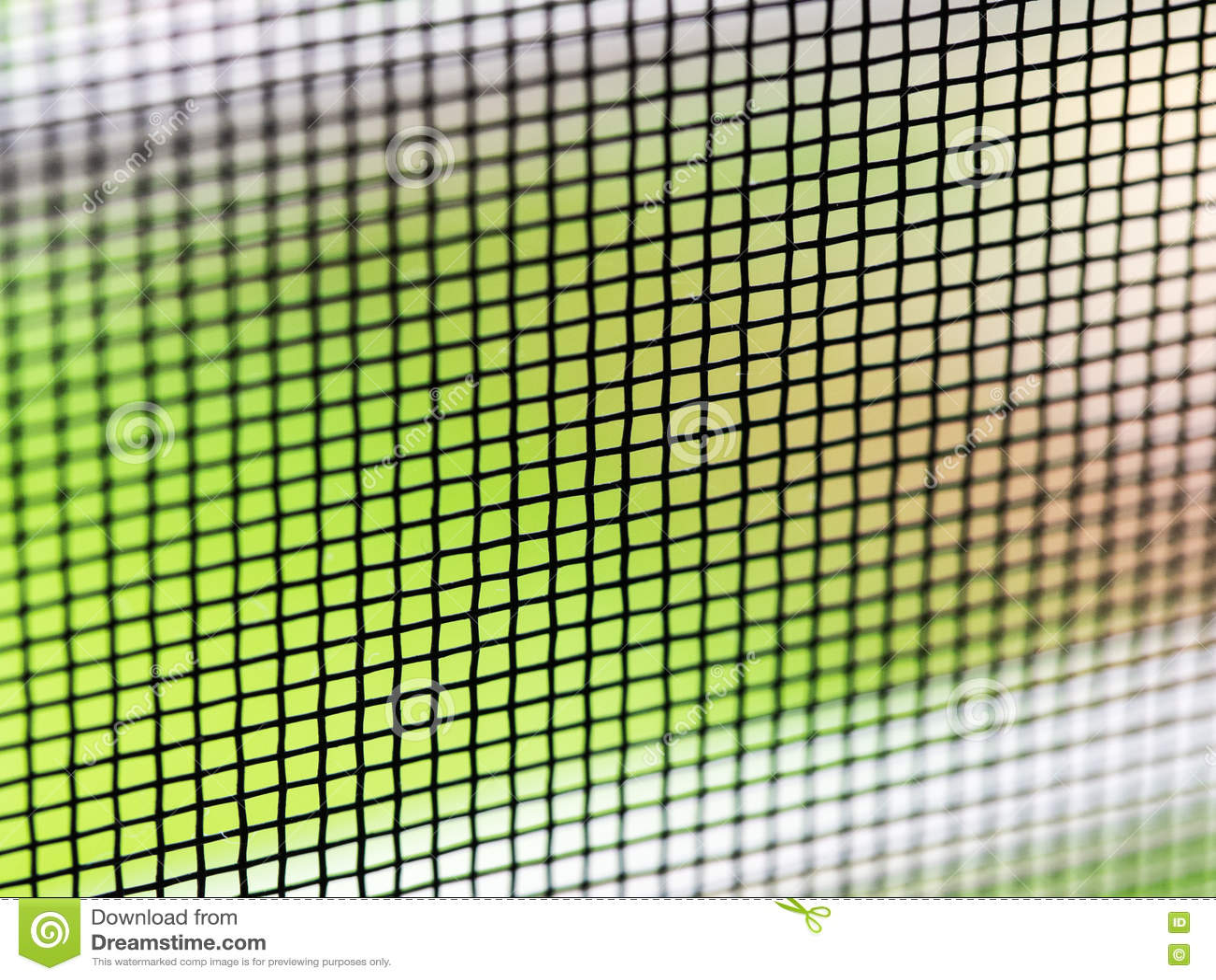 Fen tre d 39 cran de fil de moustique photo stock image for Fenetre a fer maille et verre dormant