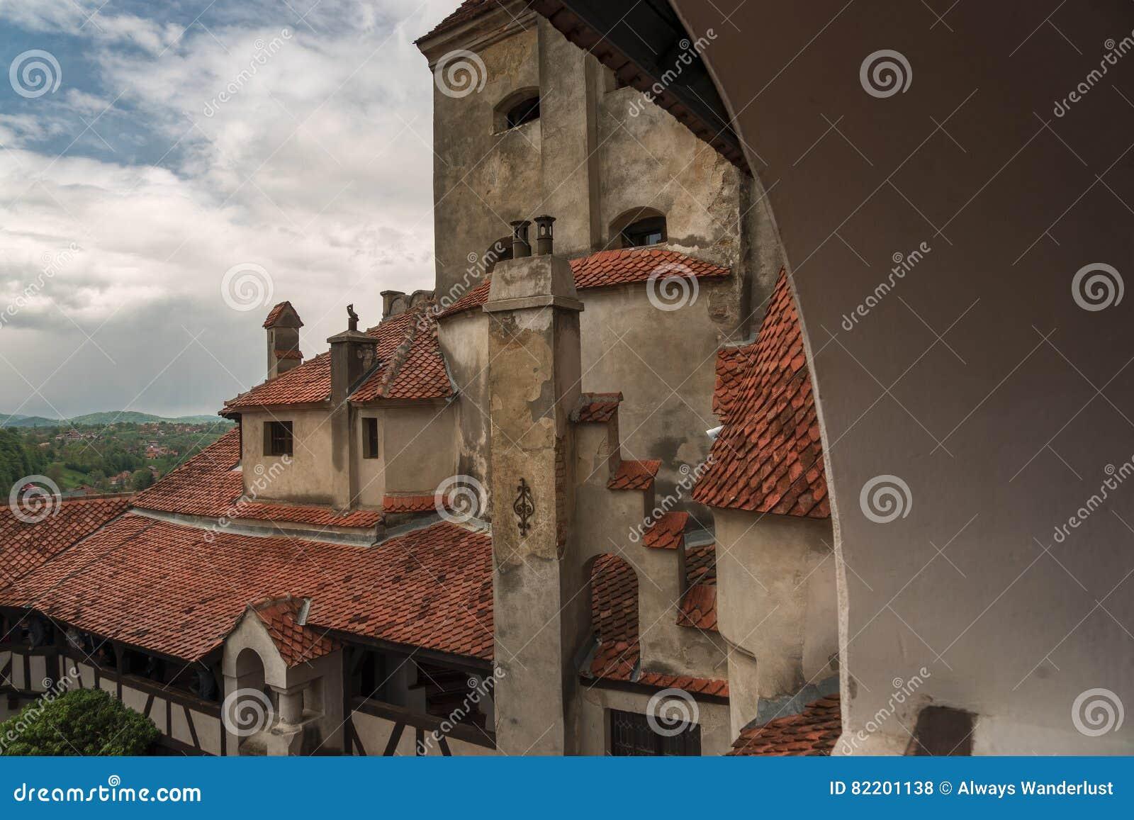 Fenêtre de château de son