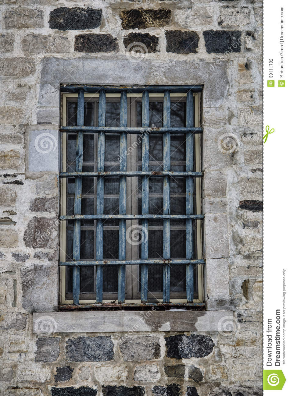 Fen tre de prison photo stock image 39111792 for Fenetre originale