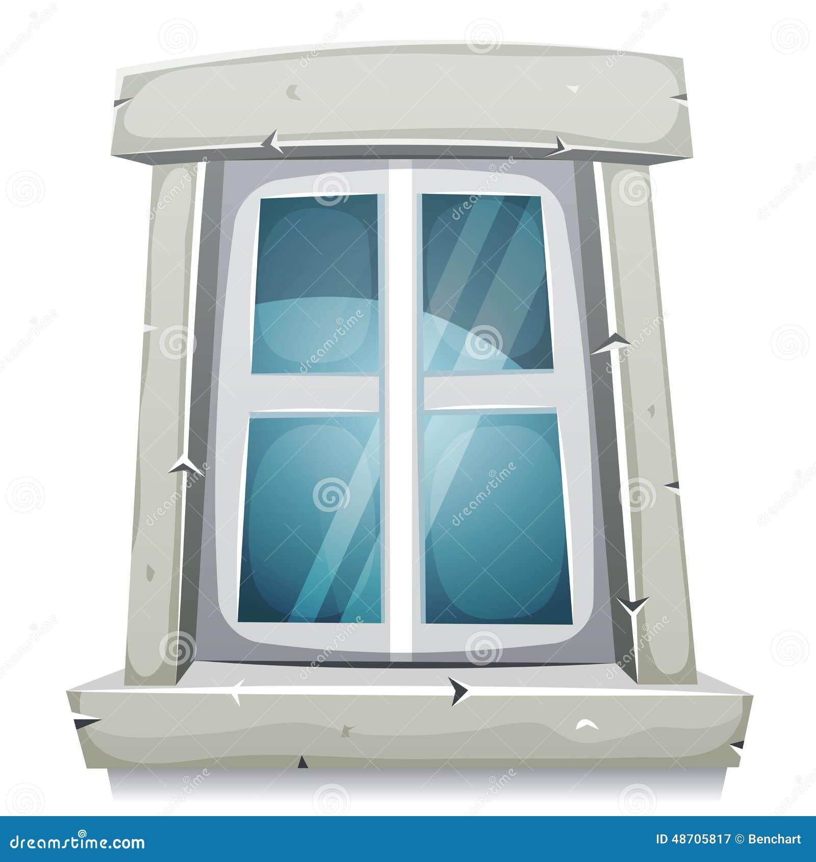 fen tre ferm e de bande dessin e illustration de vecteur image 48705817. Black Bedroom Furniture Sets. Home Design Ideas