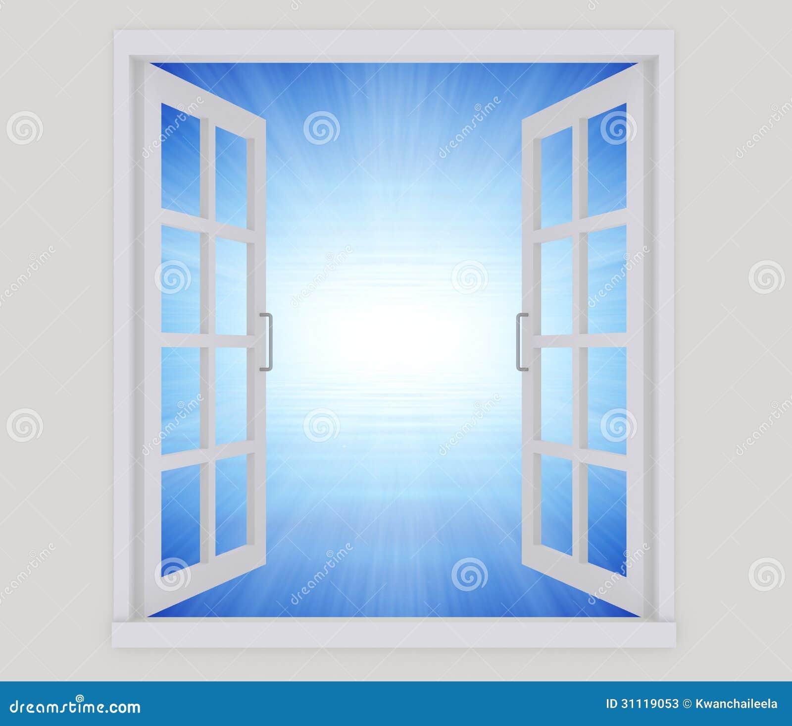 Fen tre ouverte photos stock image 31119053 for La fenetre ouverte