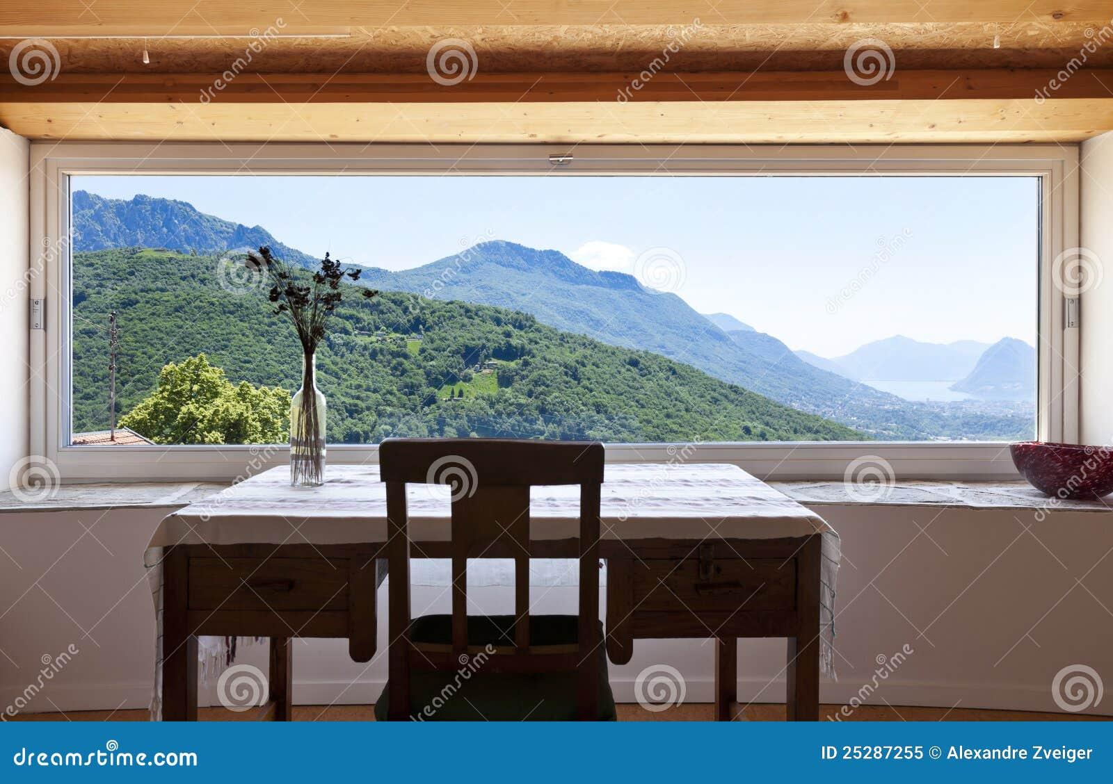 Fen tre panoramique photo libre de droits image 25287255 for La fenetre panoramique