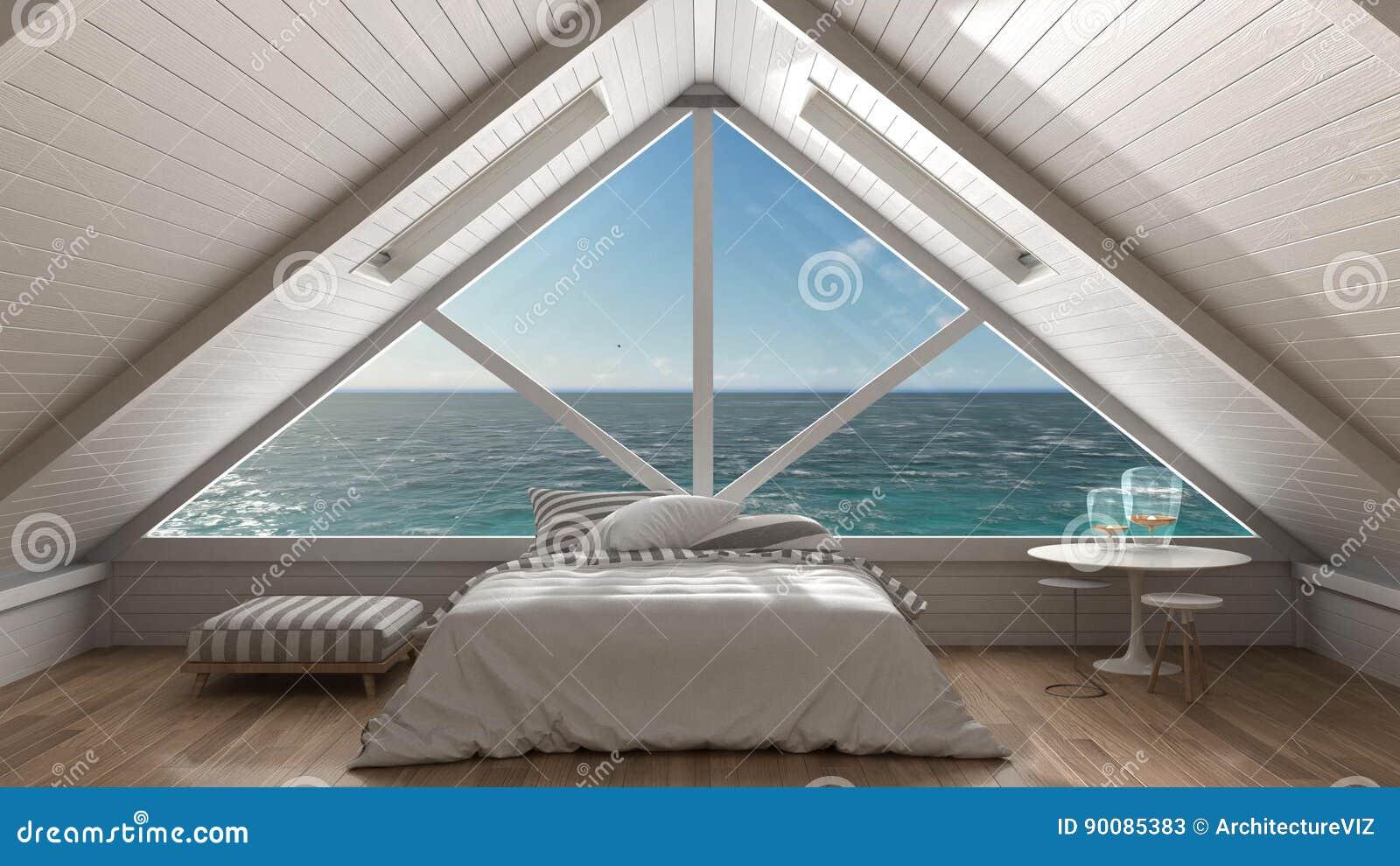 Fenêtre Panoramique Sur L\'océan De Mer Ouverte, Grenier De ...