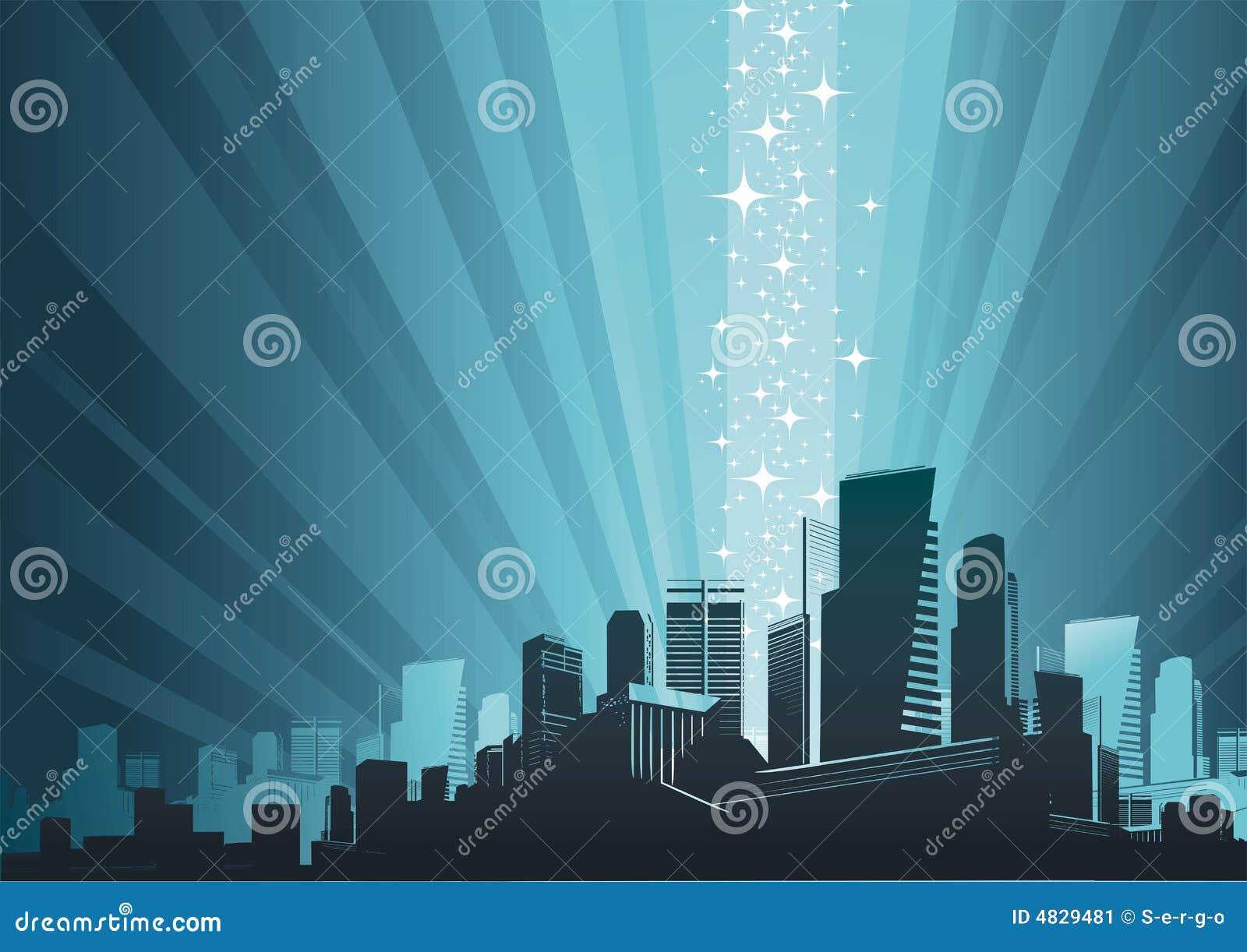 Fenômeno da arquitectura da cidade & da mágica