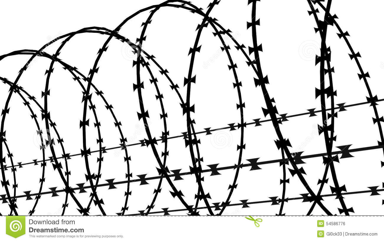 Nice Barbed Wire Clip Art Crest - The Wire - magnox.info