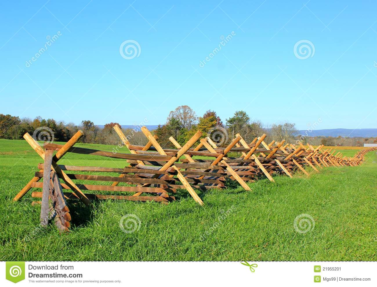 Fence at gettysburg