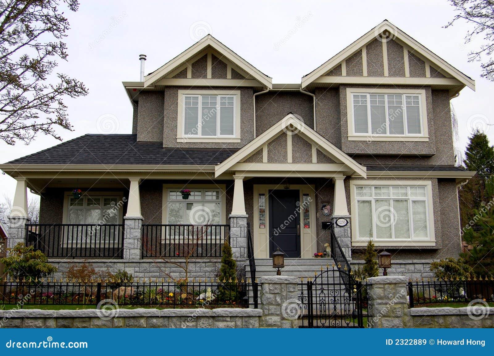 Fence house luxury