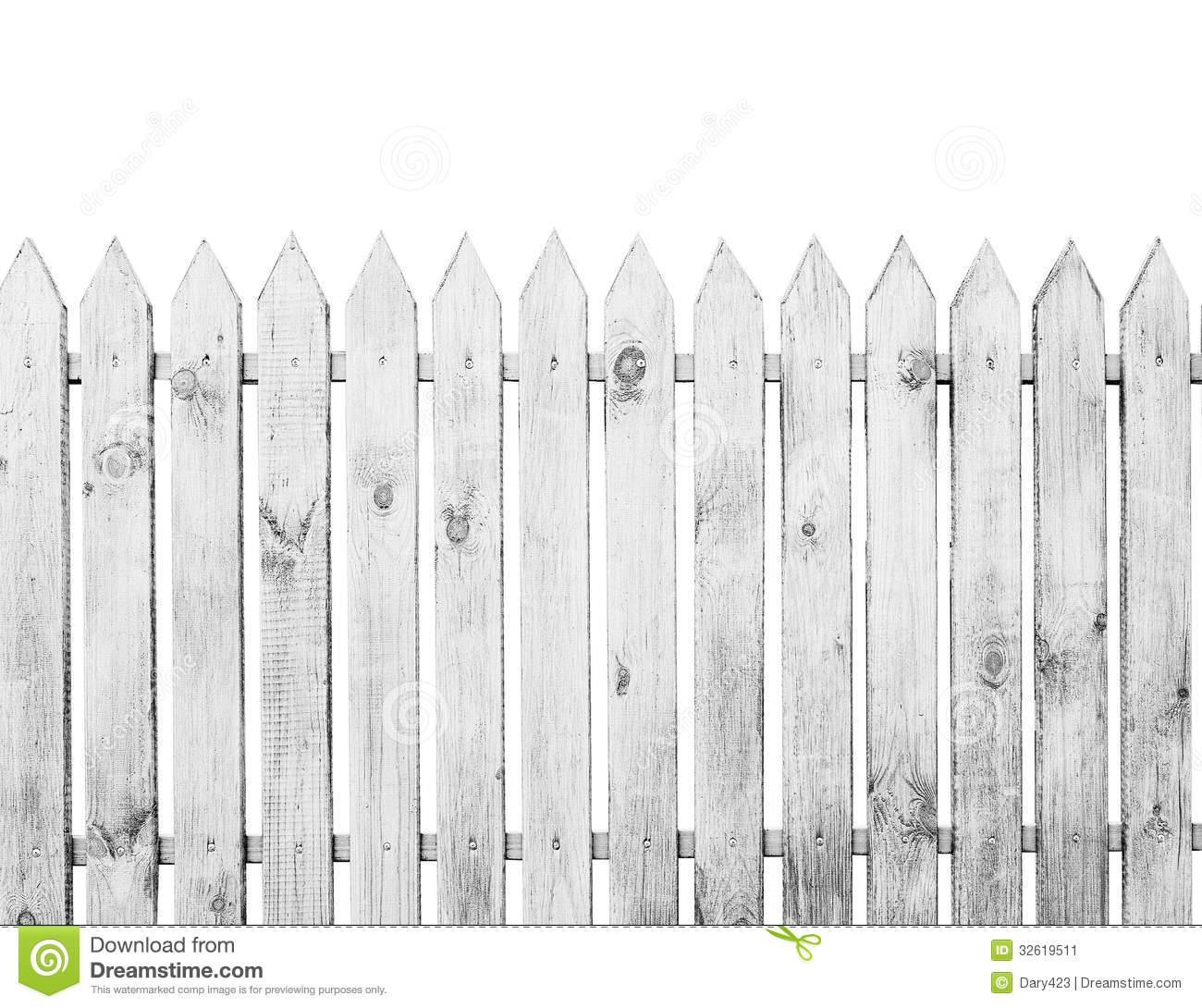 The Fence Stock Image Image 32619511