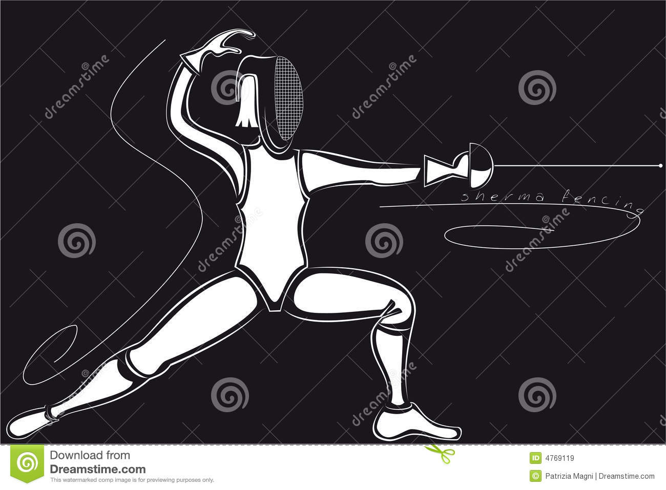 Fencing Sport Royalty Free Stock Images - Image: 4769119