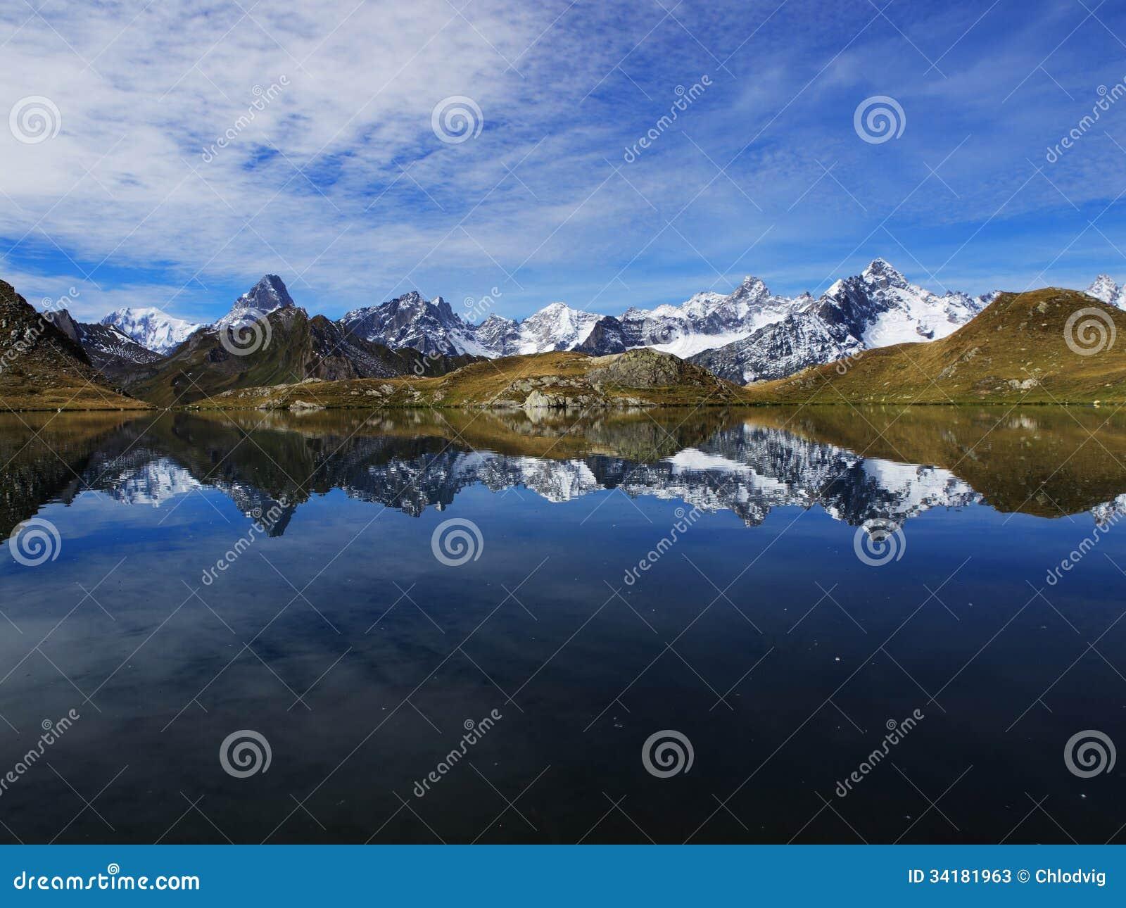 Fenetre jezioro w Szwajcaria