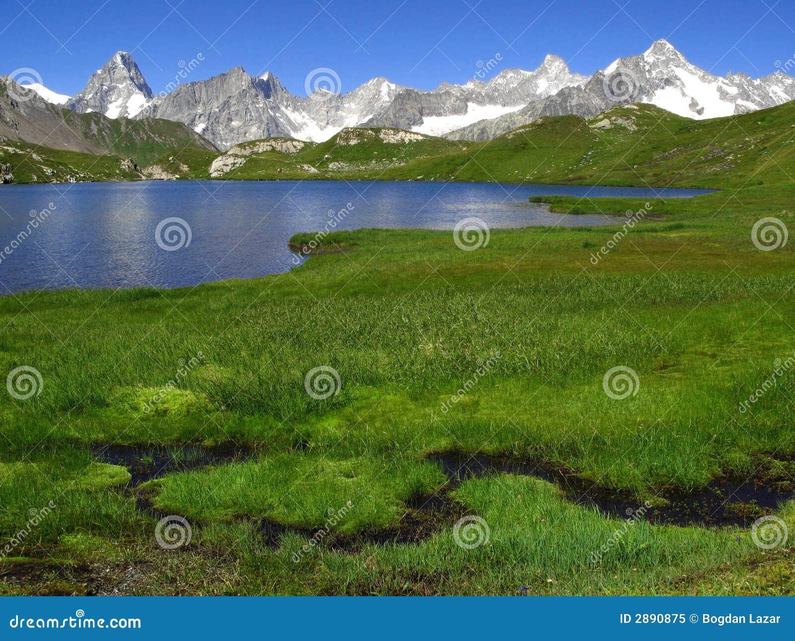 Fenetre Seen 2, europäische Alpen