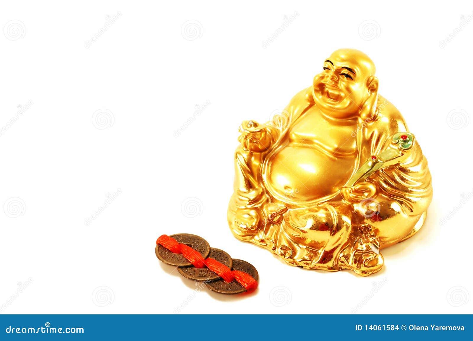 feng shui god of wealth hott stock images image 14061584. Black Bedroom Furniture Sets. Home Design Ideas