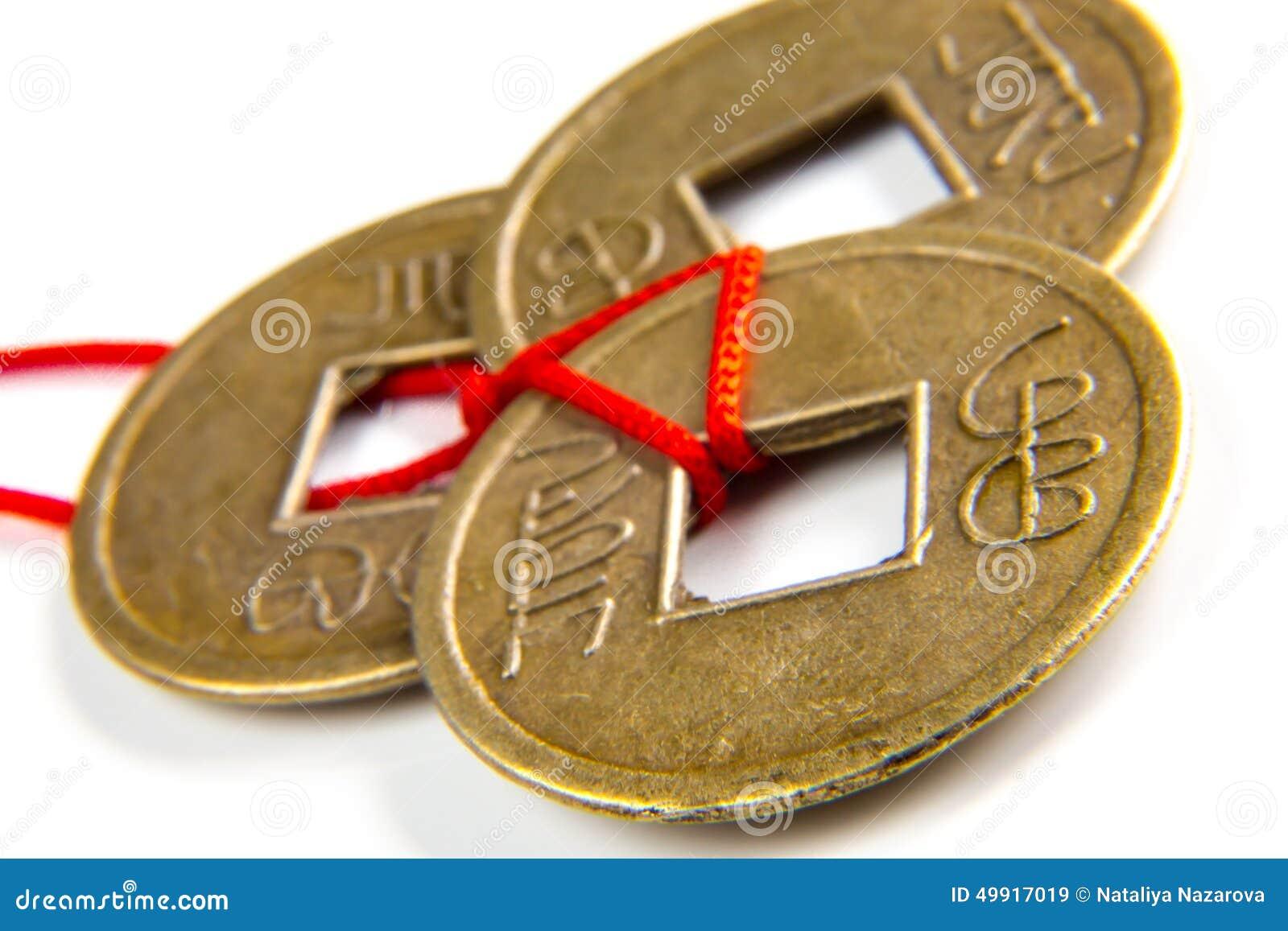 Feng shui lucky coins stock photo image 49917019 - Feng shui good luck coins ...