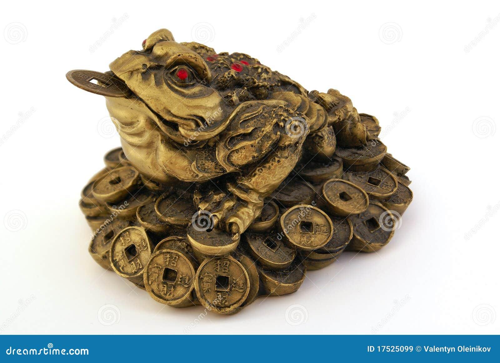 feng shui money toad royalty free stock images image 17525099. Black Bedroom Furniture Sets. Home Design Ideas