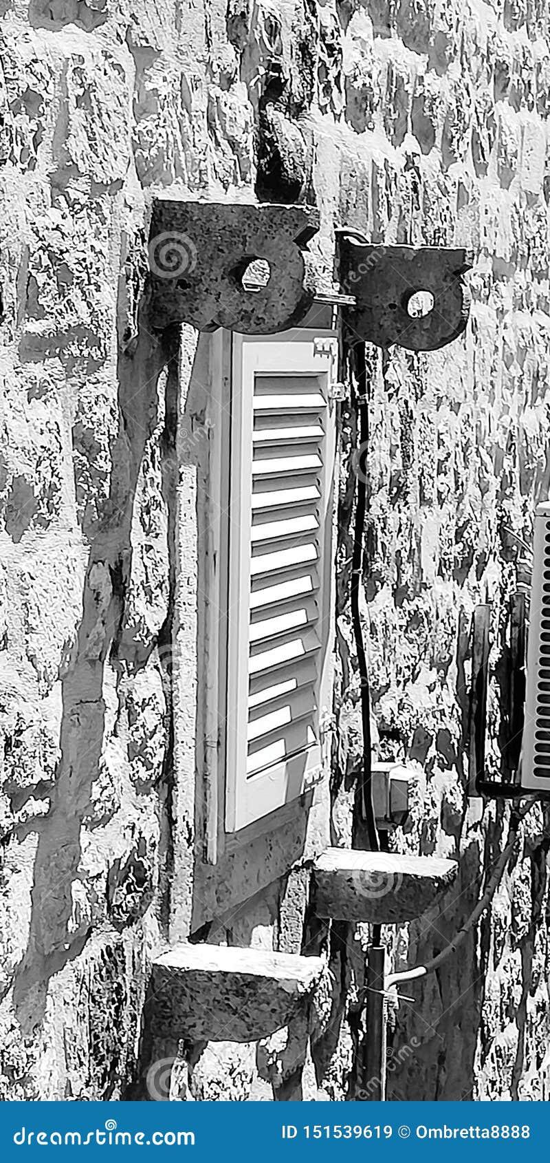 Fenster auf Dubrovnik