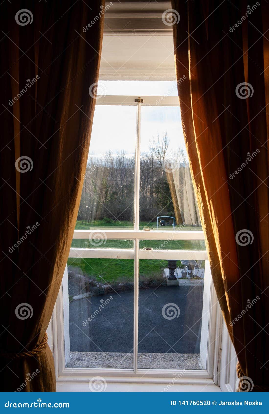 Fenster am Garten