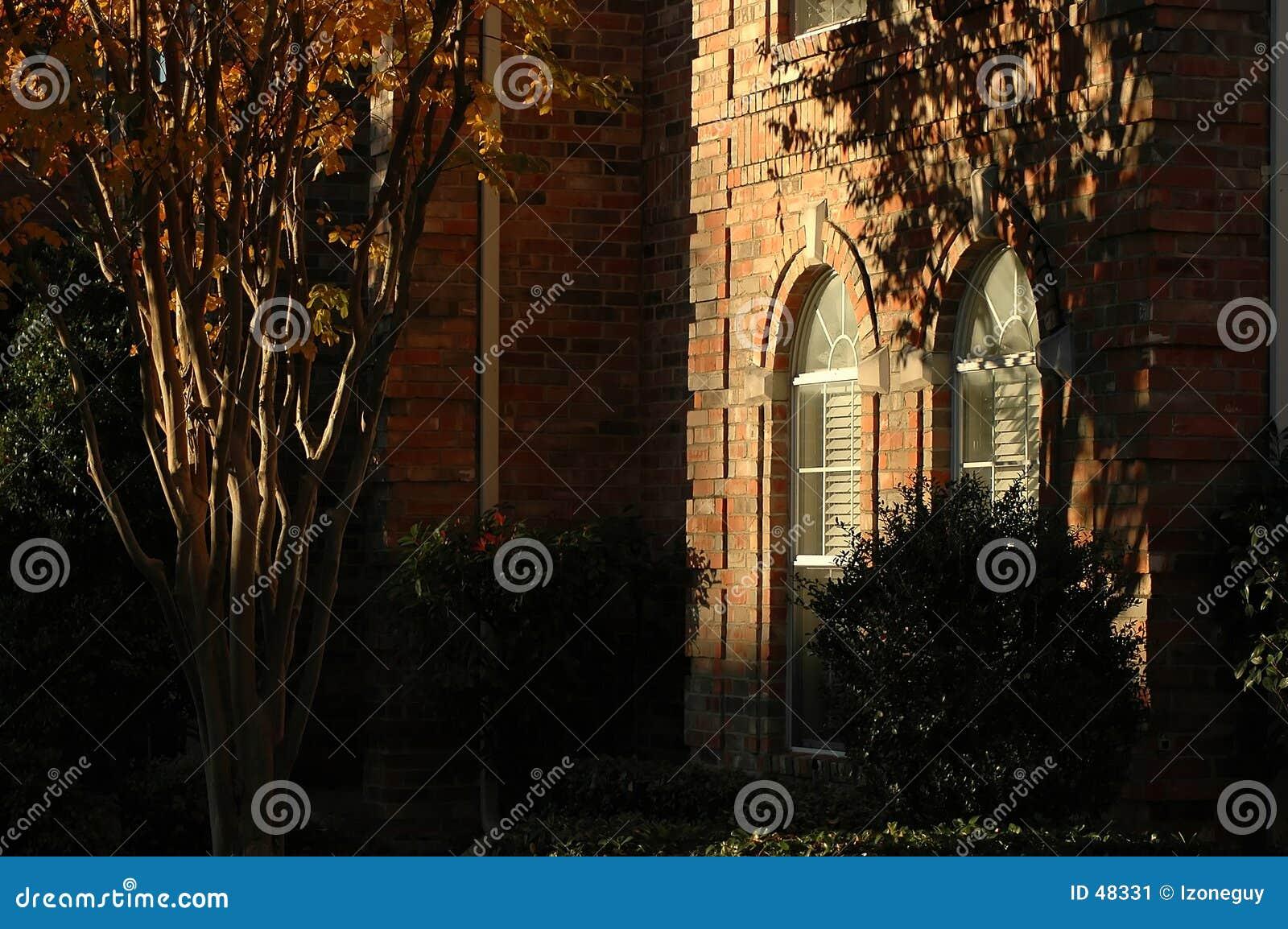 Fensterdetail des Hauses