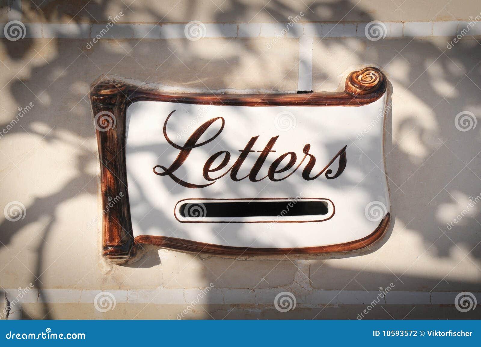 fente décorative de boîte aux lettres photo stock - image du cadre