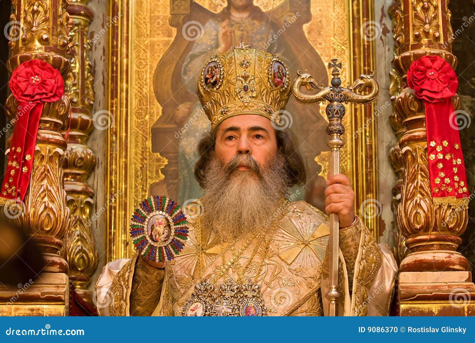 Feofil - Patriarch der orthodoxen Kirche in Jerusalem