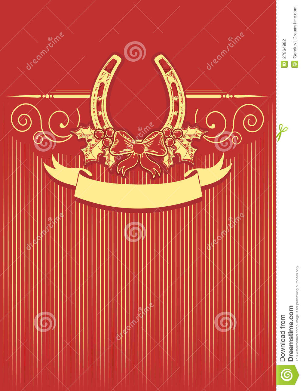 Cheval Rouge Decoration