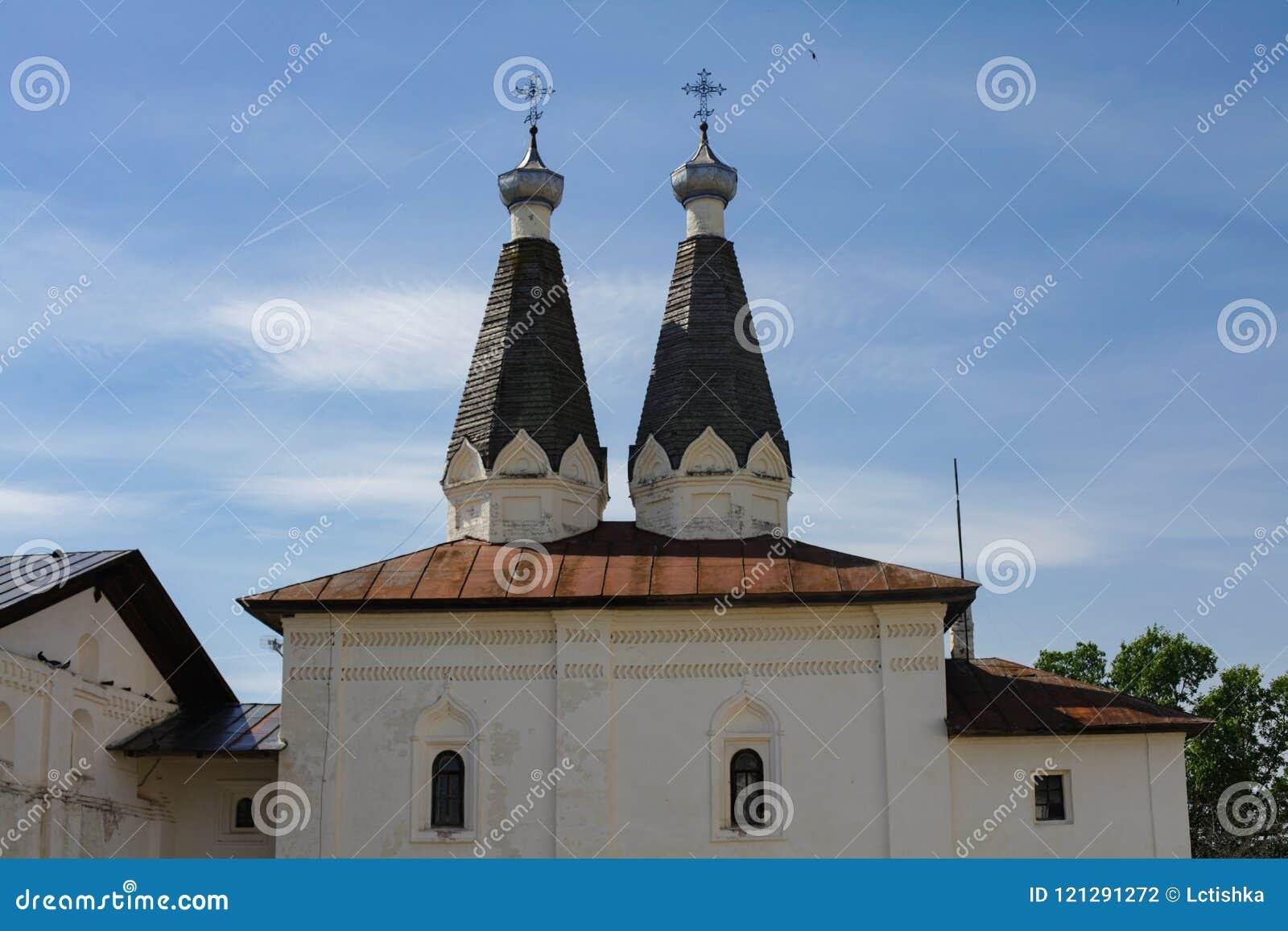 Ferapontovo, luglio 2018 monastery viste molto belle intorno